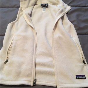Patagonia Cream Vest: Small